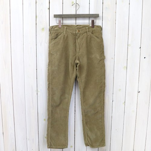 『SLIM FIT PAINTER PANTS(CORDUROY)』(BEIGE)