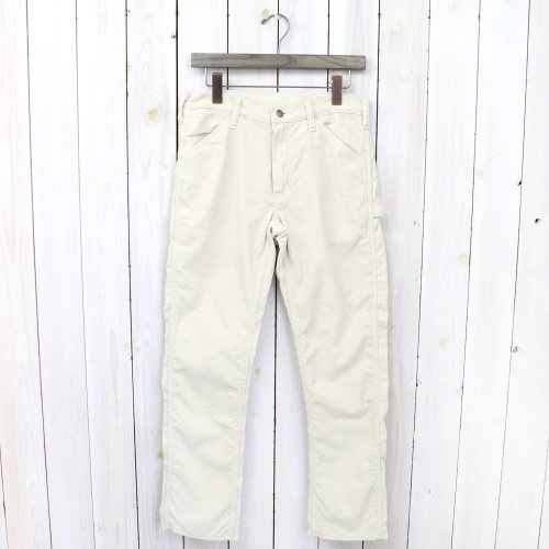 『SLIM FIT PAINTER PANTS(CORDUROY)』(ECRU)
