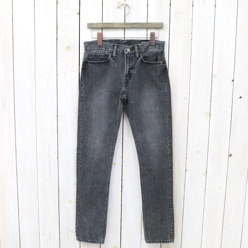 orSlow『IVY FIT DENIM』(BLACK DENIM STONE)