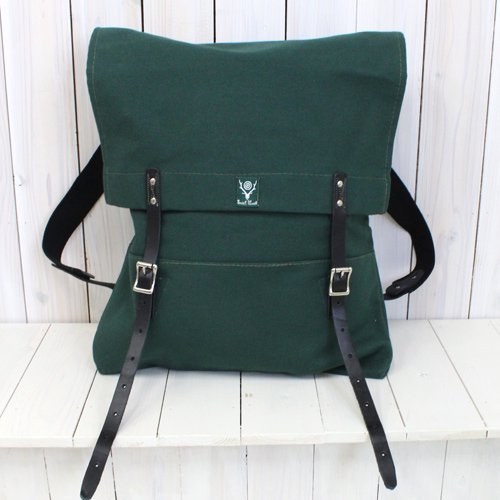 『18oz Canvas Trek Pack』(Hunter Green)