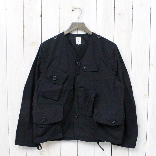 SOUTH2 WEST8『Tenkara Jacket-Wax Coating』(Black)