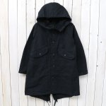 ENGINEERED GARMENTS『Highland Parka-Cotton Double Cloth』(Black)