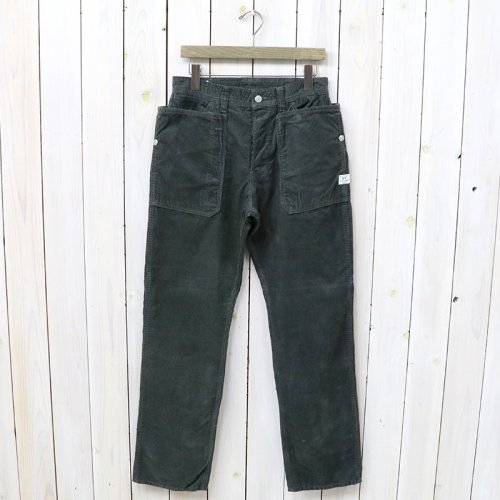 『FALL LEAF PANTS(CORDUROY)』(CHARCOAL)