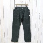 SASSAFRAS『FALL LEAF PANTS(CORDUROY)』(CHARCOAL)