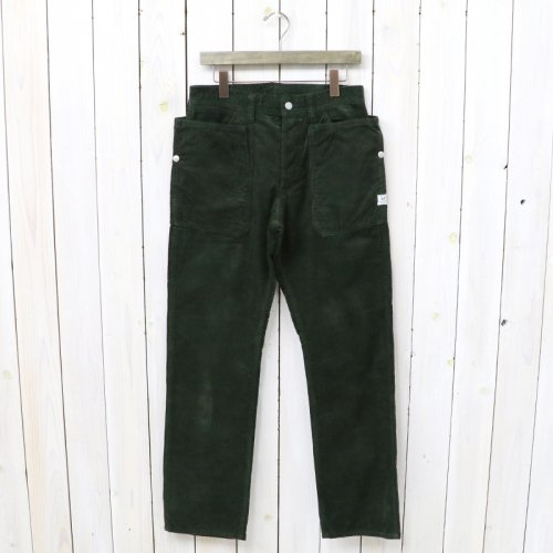 『FALL LEAF PANTS(CORDUROY)』(OLIVE)