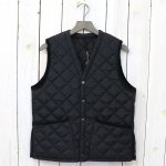 Barbour『QUILT VEST NYLON』(BLACK)