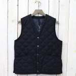 Barbour『QUILT VEST WOOL』(NAVY)