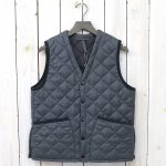 Barbour『QUILT VEST WOOL』(GRAY)