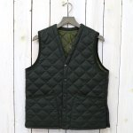 Barbour『QUILT VEST WOOL』(OLIVE)