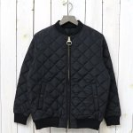 Barbour『QUILT BLOUSON NYLON』(BLACK)