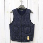 BROWN'S BEACH JACKET『LOW NECK VEST』(NAVY)