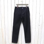 SASSAFRAS『SPRAYER PANTS(CHINO DENIM)』(INDIGO)