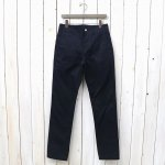 SASSAFRAS『SPRAYER PANTS(VENTILE WEST POINT)』(NAVY)
