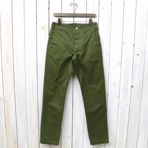 『SPRAYER PANTS(VENTILE WEST POINT)』(OLIVE)