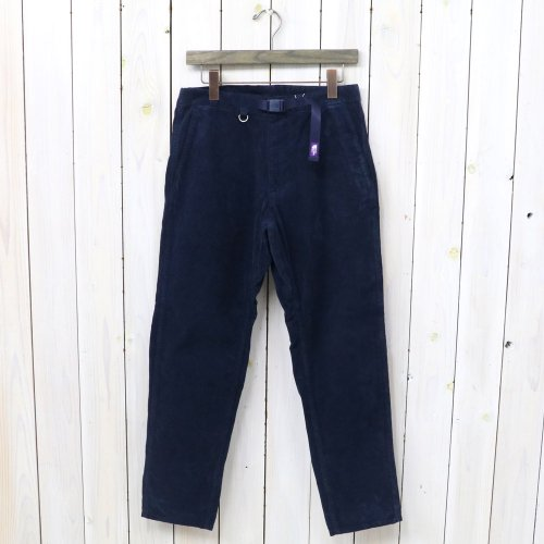 『Corduroy Tapered Pants』(Navy)