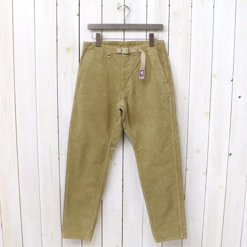 『Corduroy Tapered Pants』(Beige)