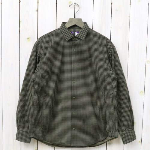 THE NORTH FACE PURPLE LABEL『Insulated Mountain Shirt』(Khaki)