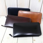 ARTS & CRAFTS『CORDOVAN ACC-ROUND-ZIP LONG WALLET』
