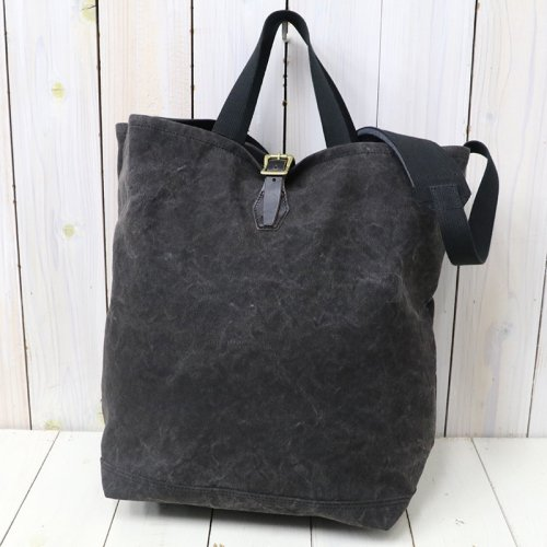 『#9 CANVAS-2WAY GROCERY TOTE』(BLACK)