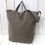 ARTS & CRAFTS『#9 CANVAS-2WAY GROCERY TOTE』(OLIVE)
