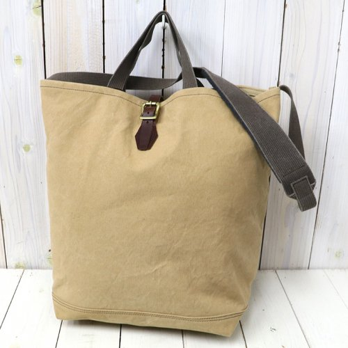 『#9 CANVAS-2WAY GROCERY TOTE』(TAN)