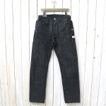 SASSAFRAS『FALL LEAF R PANTS(14oz DENIM)』(BLACK)