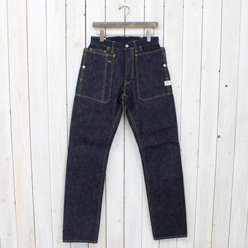 『FALL LEAF R PANTS(14oz DENIM)』(INDIGO)
