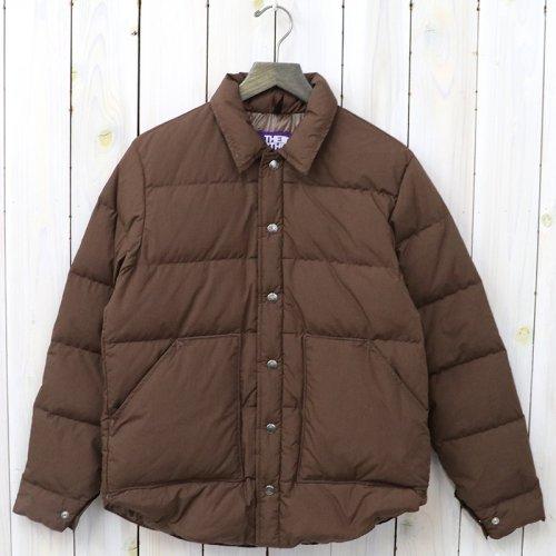 『Lightweight 65/35 Stuffed Shirt』(Brown)