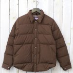 THE NORTH FACE PURPLE LABEL『Lightweight 65/35 Stuffed Shirt』(Brown)