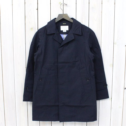 『GORE-TEX® Soutien Coller Coat-Cotton GORE』(Marine Navy)
