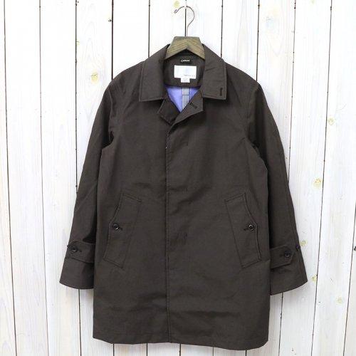 『GORE-TEX® Soutien Coller Coat-Cotton GORE』(Dark Brown)