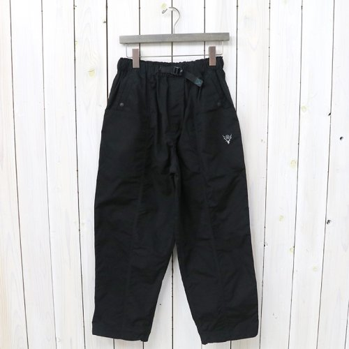 SOUTH2 WEST8『Belted Center Seam Pant-Wax Coating』(Black)