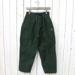 SOUTH2 WEST8『Belted Center Seam Pant-Wax Coating』(Green)