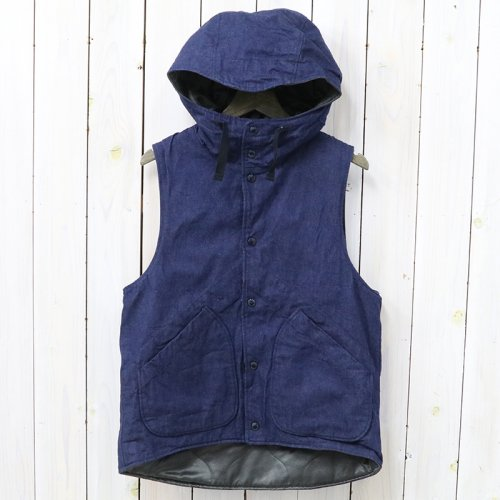 『Hooded Vest-11oz Cone Denim』