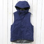 【会員様限定SALE】ENGINEERED GARMENTS『Hooded Vest-11oz Cone Denim』
