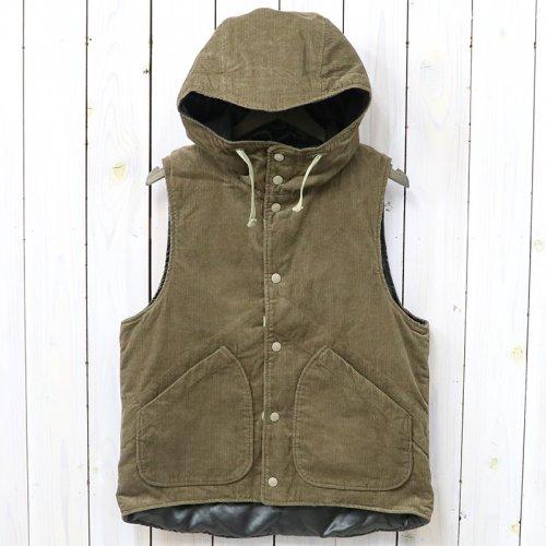 ENGINEERED GARMENTS『Hooded Vest-11W Corduroy』