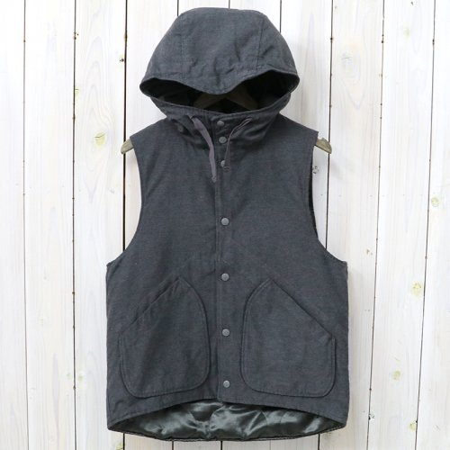 『Hooded Vest-Activecloth』(Charcoal)