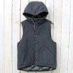 ENGINEERED GARMENTS『Hooded Vest-Activecloth』(Charcoal)