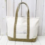 hobo『Cotton Canvas Tote Bag M with Cow Suede』