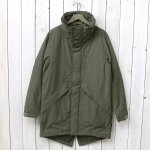WILDTHINGS『HD NYLON WARM COAT』(OLIVE)