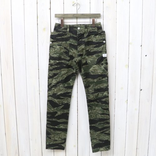 『FALL LEAF SPRAYER PANTS(TWILL)』(TIGER)