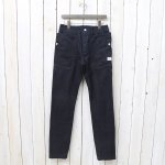 SASSAFRAS『FALL LEAF SPRAYER PANTS(CHINO DENIM)』(INDIGO)