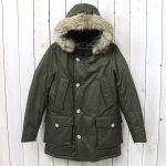 WOOLRICH『LAMINATED COTTON PARKA WOCPS2620』(MILITARY OLIVE)
