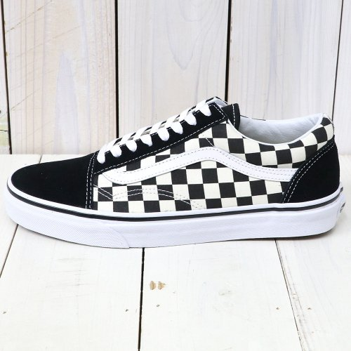 VANS『OLD SKOOL』((PRIMARY CHECK)BLAC...