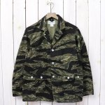 SASSAFRAS『G.D.U. LEAF JACKET(TWILL)』(TIGER)