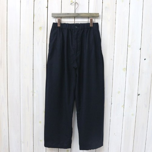 『New Balloon Pant-Worsted Heavy Wool』(Dk.Navy)