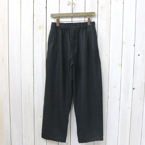 『New Balloon Pant-Worsted Heavy Wool』(Dk.Grey)