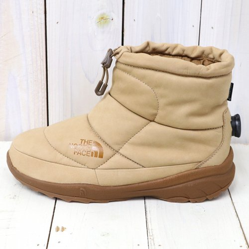 『Nuptse Bootie WP Leather』(Brown)