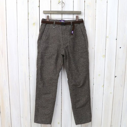 『Jazz Nep Mountain Pants With Belt』(Brown)