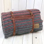 PENDLETON『Camp Blankets with Leather Carrier』(Hemrich Stripe)